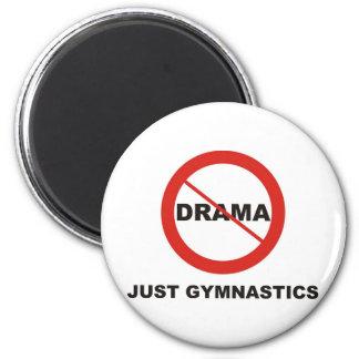 No Drama Just Gymnastics Magnet