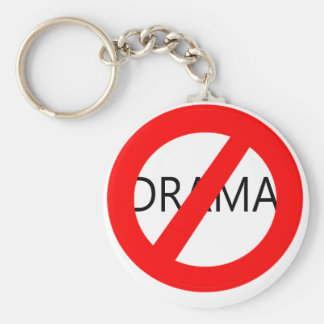 No Drama Keychain