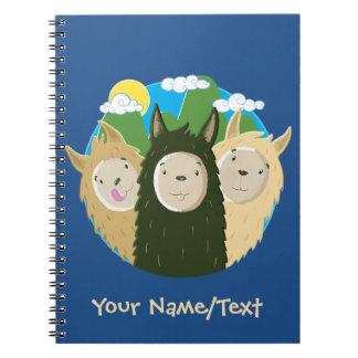 No Drama Llamas Brothers Notebook