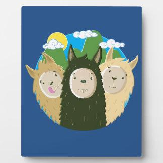 No Drama Llamas Brothers Plaque