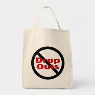 No Dropouts Grocery Tote Bag