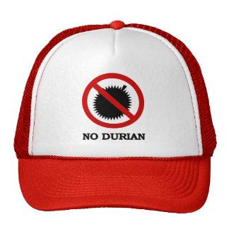 NO Durian Tropical Fruit Sign Cap