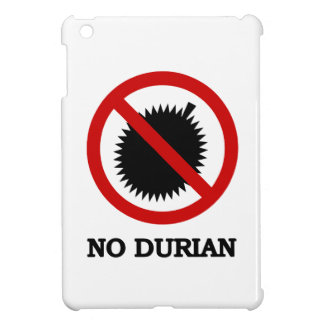 NO Durian Tropical Fruit Sign iPad Mini Covers
