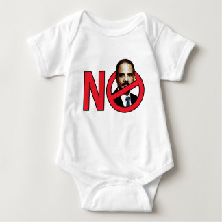 No Eric Holder Baby Bodysuit
