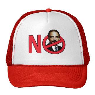 No Eric Holder Cap