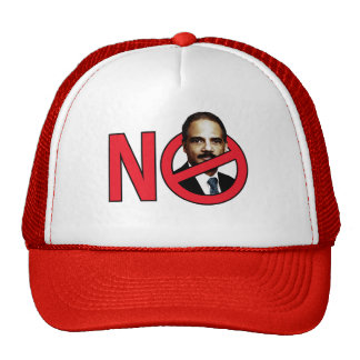 No Eric Holder Mesh Hat