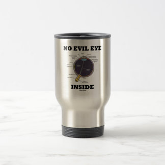 No Evil Eye Inside Anatomical Eyeball Humor Coffee Mugs