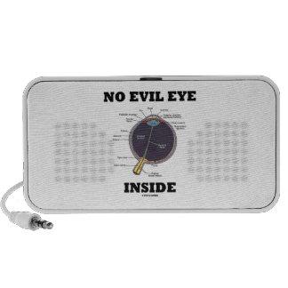 No Evil Eye Inside (Anatomical Eyeball Humor) Portable Speaker