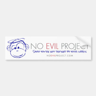 No Evil Project Bumper Sticker