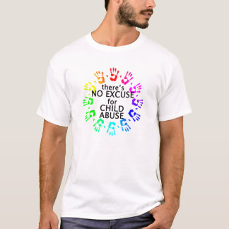 No Excuse for Child Abuse T-Shirt