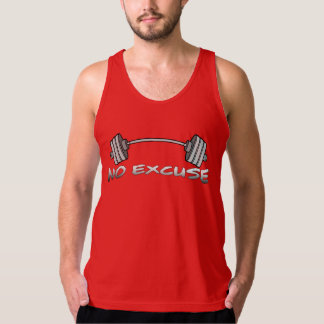 NO EXCUSE WORK OUT TANK
