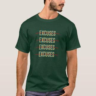 No Excuses Motivation T-Shirt