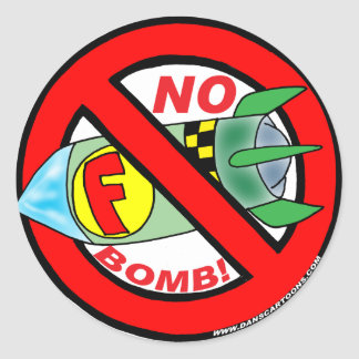 No F-Bomb Stickers