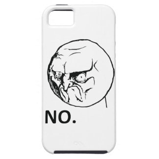 NO face iPhone 5 Cover