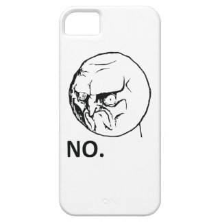 NO face iPhone 5 Covers