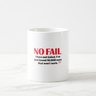 No Fail Coffee Mugs