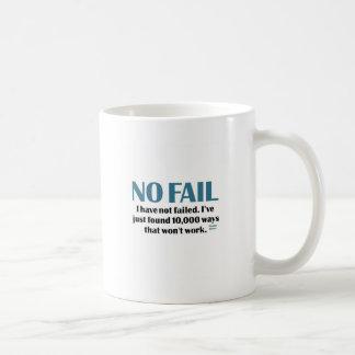 No Fail Coffee Mug