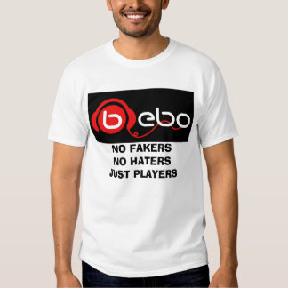 , NO FAKERS NO HATERS JUST PLAYERS T SHIRTS