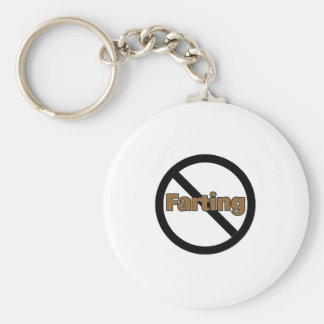 No Farting Key Ring