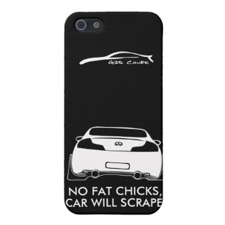 no fat chicks, car will scrape cover for iPhone 5/5S