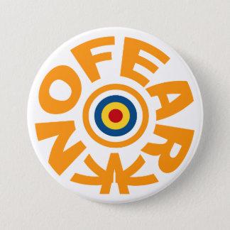 No Fear 7.5 Cm Round Badge