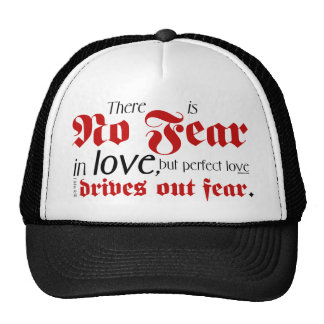 No Fear in Love Cap