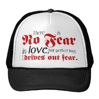 No Fear in Love Trucker Hat