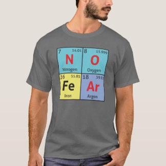'No Fear' mens comedy science t-shirt