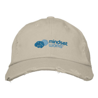 No Fear Mindset Works Cap Embroidered Baseball Caps