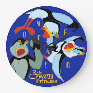 No Fear Puffin Wall Clock