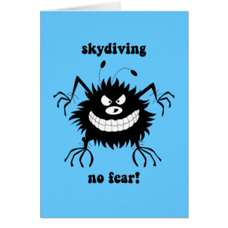 no fear skydiving card
