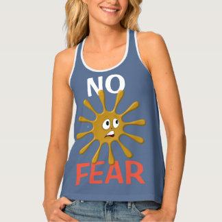 No Fear Splat (brown) grey shirt