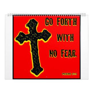 No Fear Wall Calendar