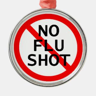 No Flu Shot Ornament