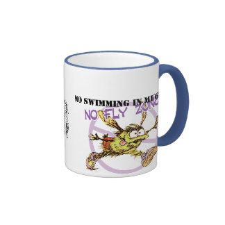No Fly Zone Coffee Mugs