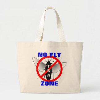 No Fly Zone Jumbo Tote Bag