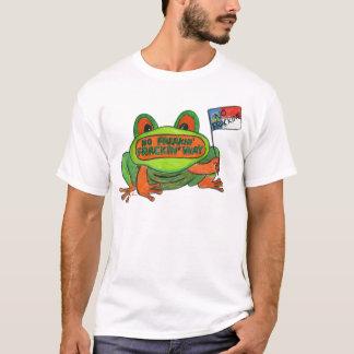 No Fracking North Carolina Frog T-Shirt
