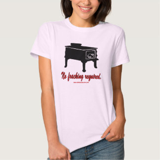 No Fracking Required T-shirts