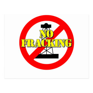 No Fracking UK 2 Postcard