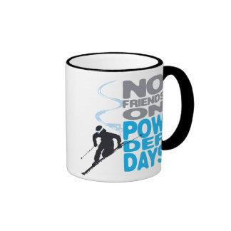 No Friends on Powder Days Mug