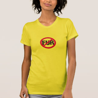 NO FUR! T-Shirt