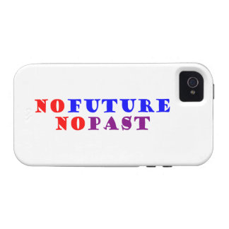 NO future NO past Case-Mate iPhone 4 Case