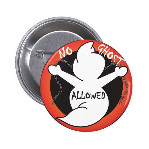No Ghost Allowed Buttons
