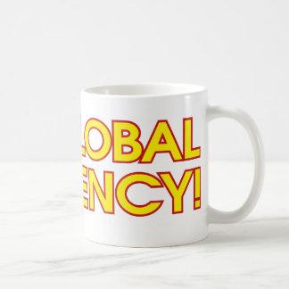 No Global Currency! Basic White Mug