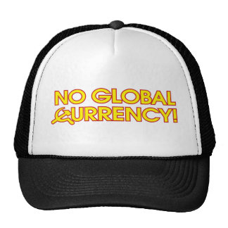 No Global Currency! Cap