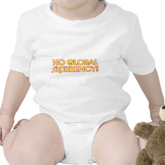 No Global Currency! Baby Bodysuit