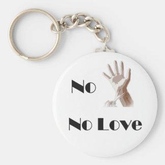 No Glove No Love Keychain