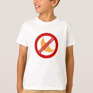 No gluten for me! - Gluten Allergy Alert T-Shirt