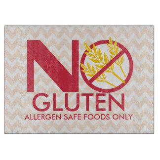 No Gluten or Wheat Safe cutting board