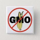 No GMO 15 Cm Square Badge